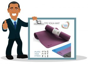 Tapis de yoga de Kesyle