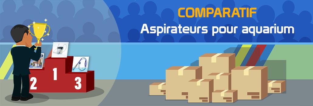 comparatif aspirateur pour aquarium