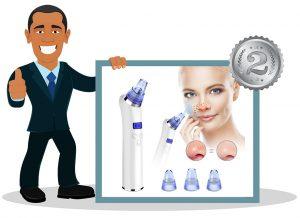 nettoyeur de pores et aspirateur de point noir TimeUt