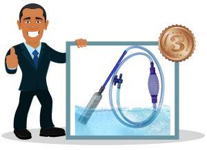 pompe aspirateur pour aquarium de Bedee