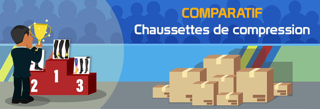 comparatif chaussettes de compression