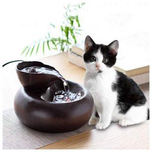 fontaine à eau pour chat ultra silencieuse