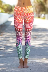 tenue de yoga fashion