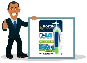 Colle extra forte Bostik Fix & Flash