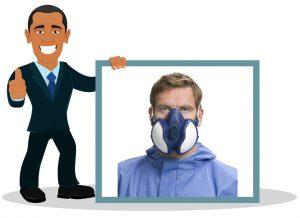 Masque de protection respiratoire 3M série 4000