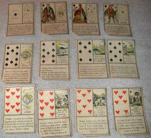 ancien jeu de cartes