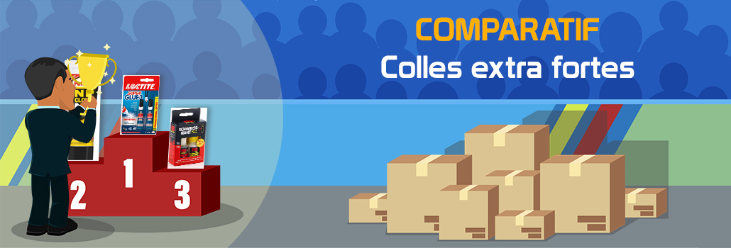 comparatif colles extra fortes