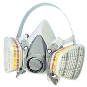 demi masque respiratoire 3m