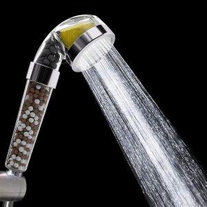 pommeau de douche filtrant