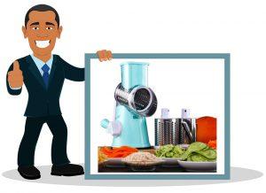 Râpe à légumes électrique HUADEYI