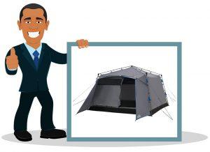 Tente de camping familiale Qeedo Quick Villa 5