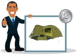 Tente de camping familiale Unbekannt – Pingouin Campus 4