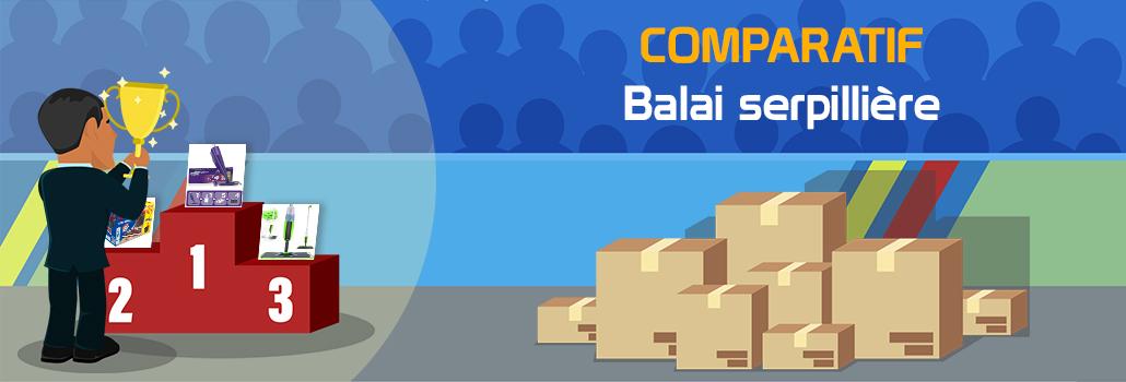 comparatif Balai serpillière