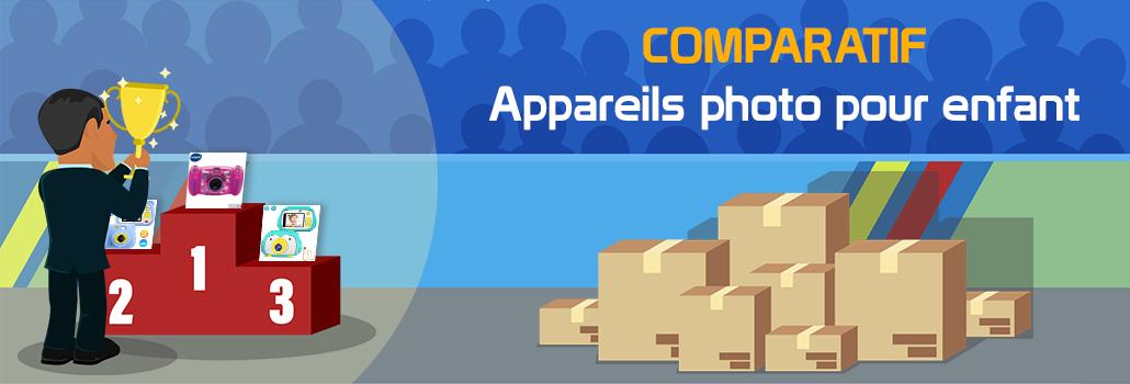 comparatif appareils photo pour enfant