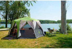 tente familiale de camping