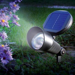éclairage solaire spot