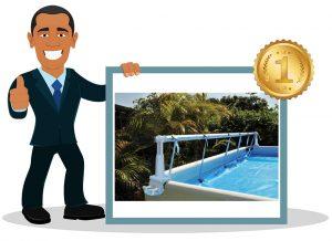 Enrouleur bâche de piscine PISCINEO