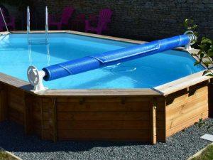 enrouleur bâche piscine hors sol