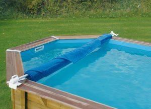 enrouleur pour bâche de piscine