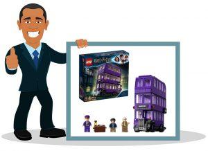 Lego Harry Potter Le Magicobus