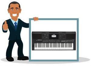 Piano numérique Yamaha PSR-E463
