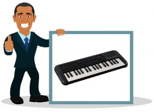 Piano numérique Yamaha PSS-A50