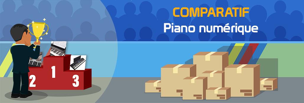 comparatif piano numérique