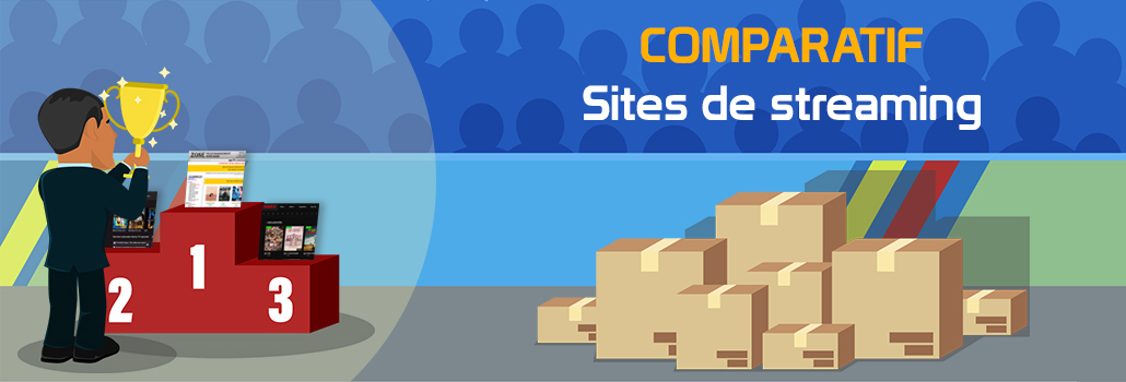 comparatif site de streaming