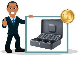 Caisse à monnaie Pavo avec trieur