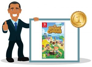 Jeu vidéo switch enfant Animal Crossing New Horizons