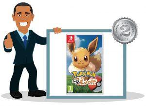 Jeu vidéo switch enfant Pokémon Let's Go Evoli