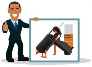 Pistolet à colle Atolla