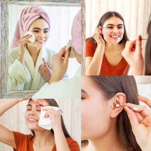 boite cotons lavables maquillage
