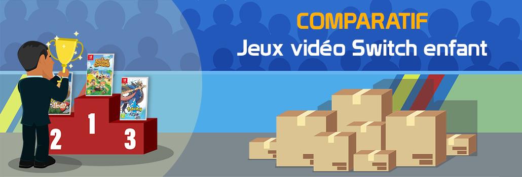 comparatif Jeux vidéo switch enfant