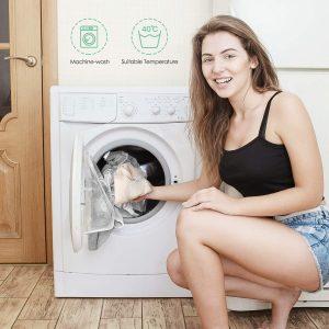 lavage cotons démaquillants