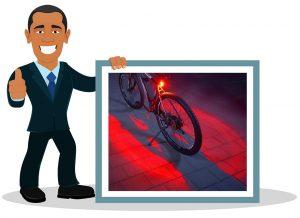Feu arrière vélo Fischer