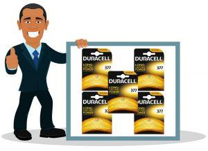 Pile pour montre Duracell