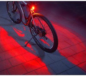 éclairage vélo arrière