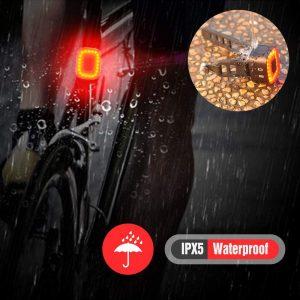 feux arrière vélo rechargeables