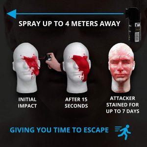 spray auto defense marquer