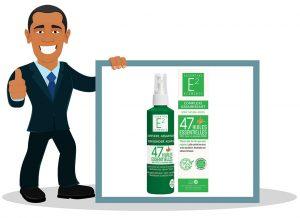 Spray assainissant huiles essentielles E2 aux 47 Huiles Essentielles