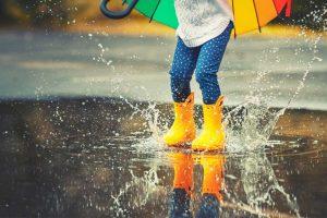 bien choisir des bottes de pluie enfant