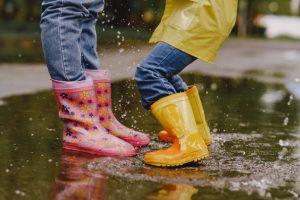 meilleures bottes de pluie enfant