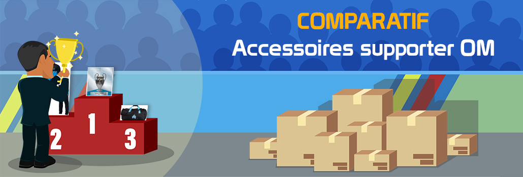 Comparatif accessoires supporter OM