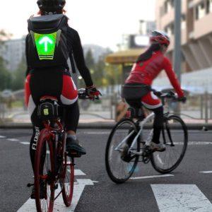 gilet led signalisation vélo