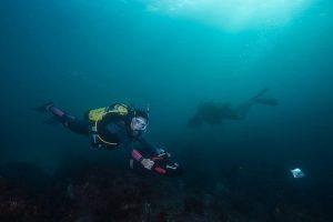 scooter plongée marine