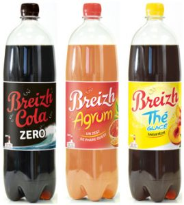 la gamme Breizh Cola