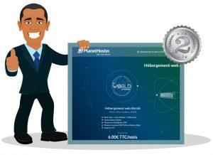 PlanetHoster hébergement serveur dédié