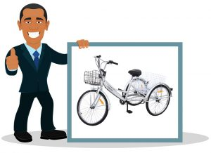 Vélo 3 roues adulte MuGuang