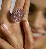 diamant de l'étoile rose